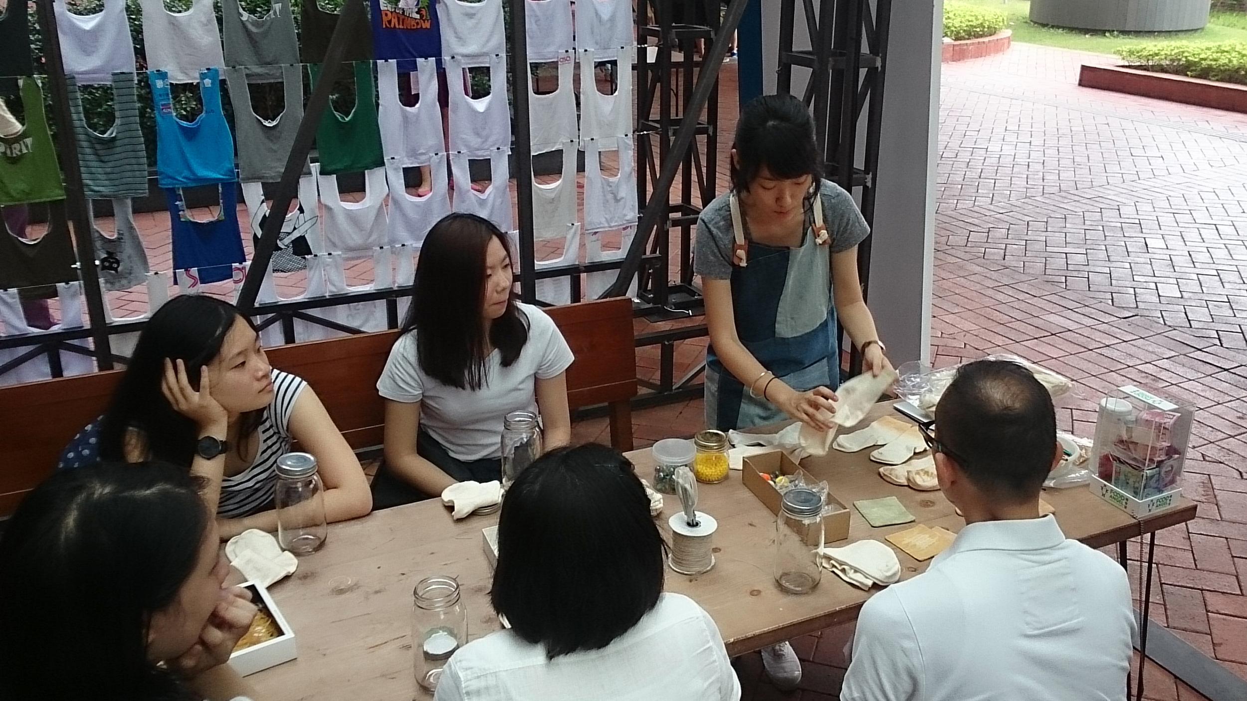 Solar Dye Workshop@HKU