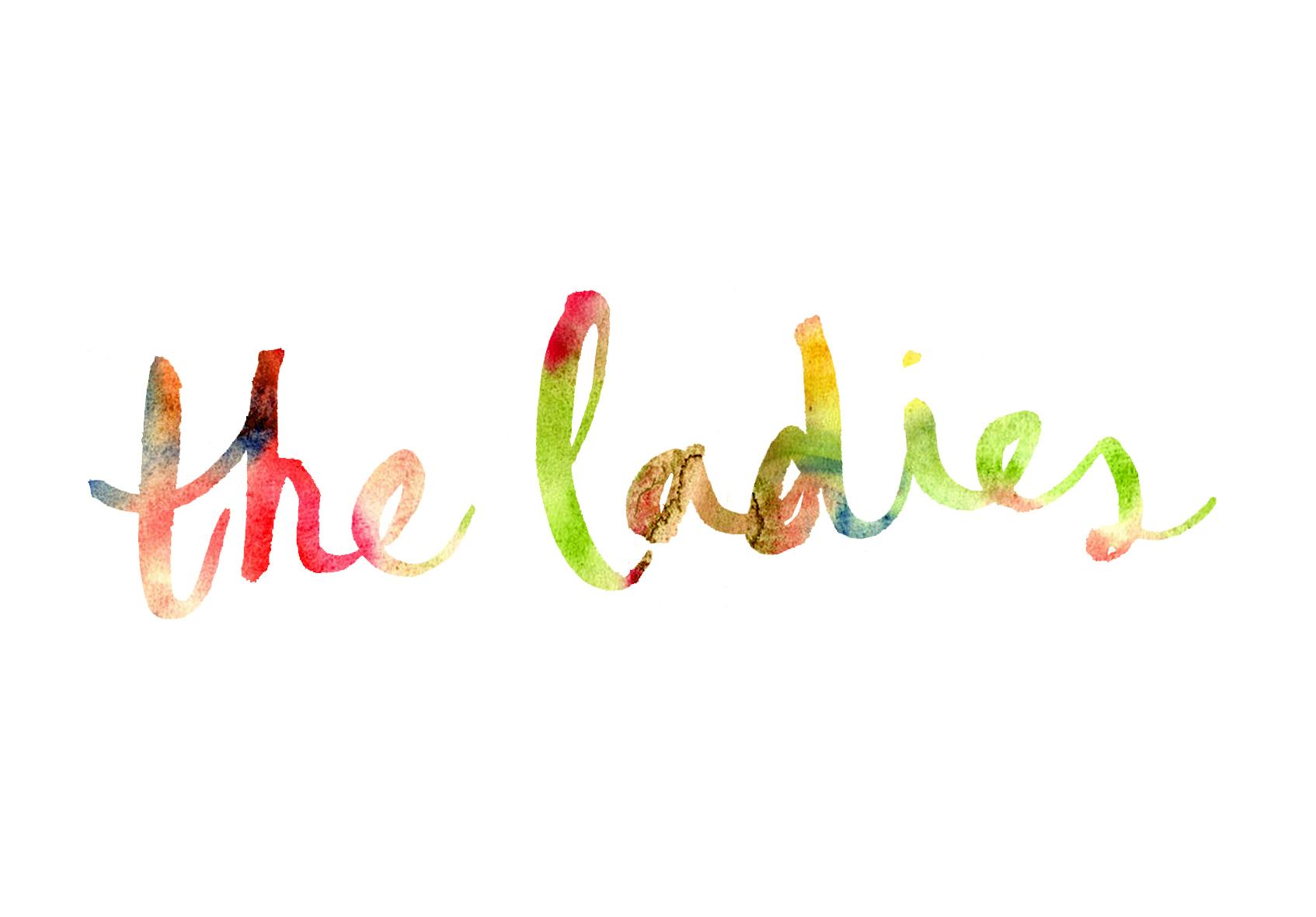 LOGO DESIGN FOR ART CONSULTANCY 'THE LADIES' - 2013