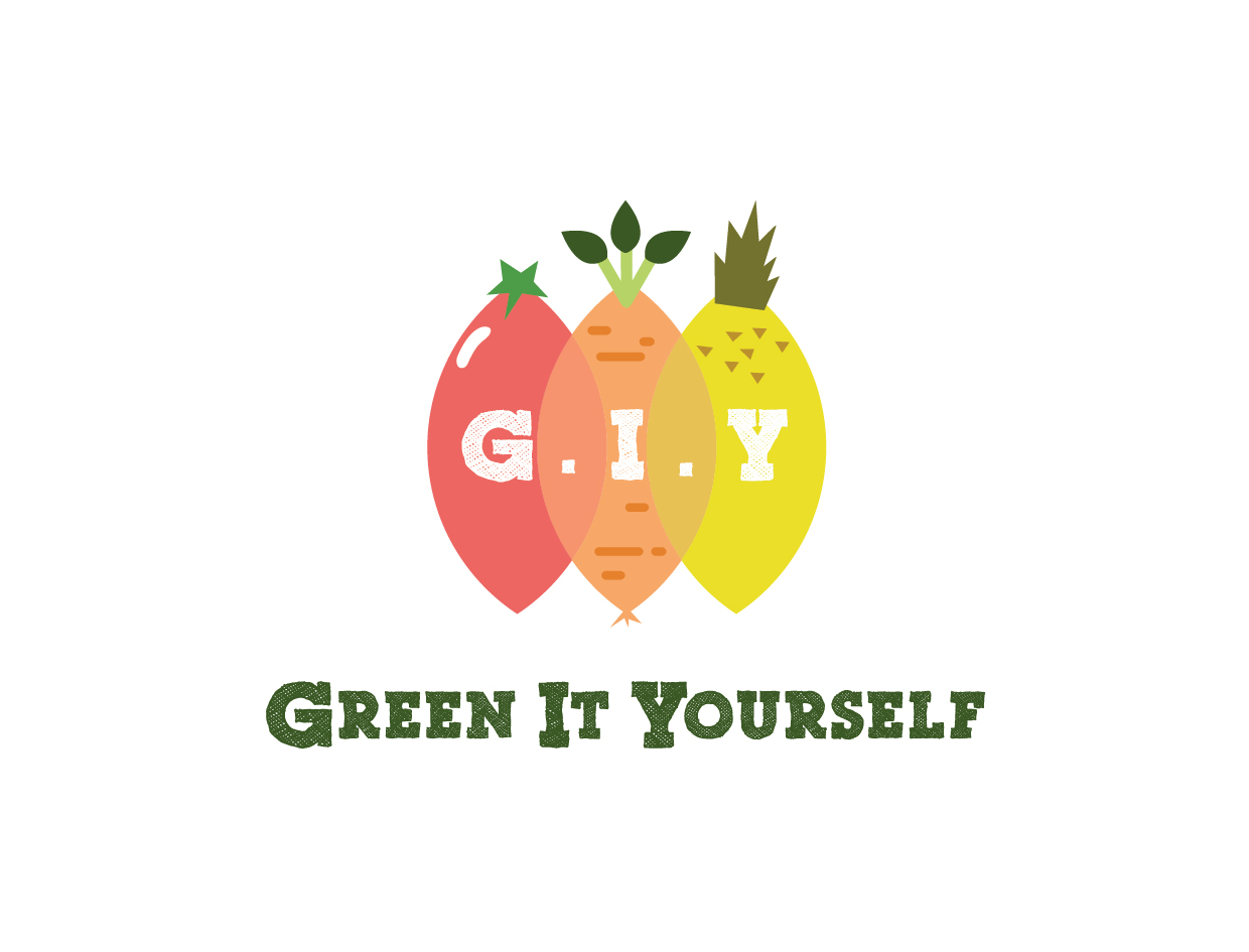 LOGO DESIGN FOR 'GREEN-IT-YOURSELF'CAMPAIGN by GREEN MONDAY - 2016