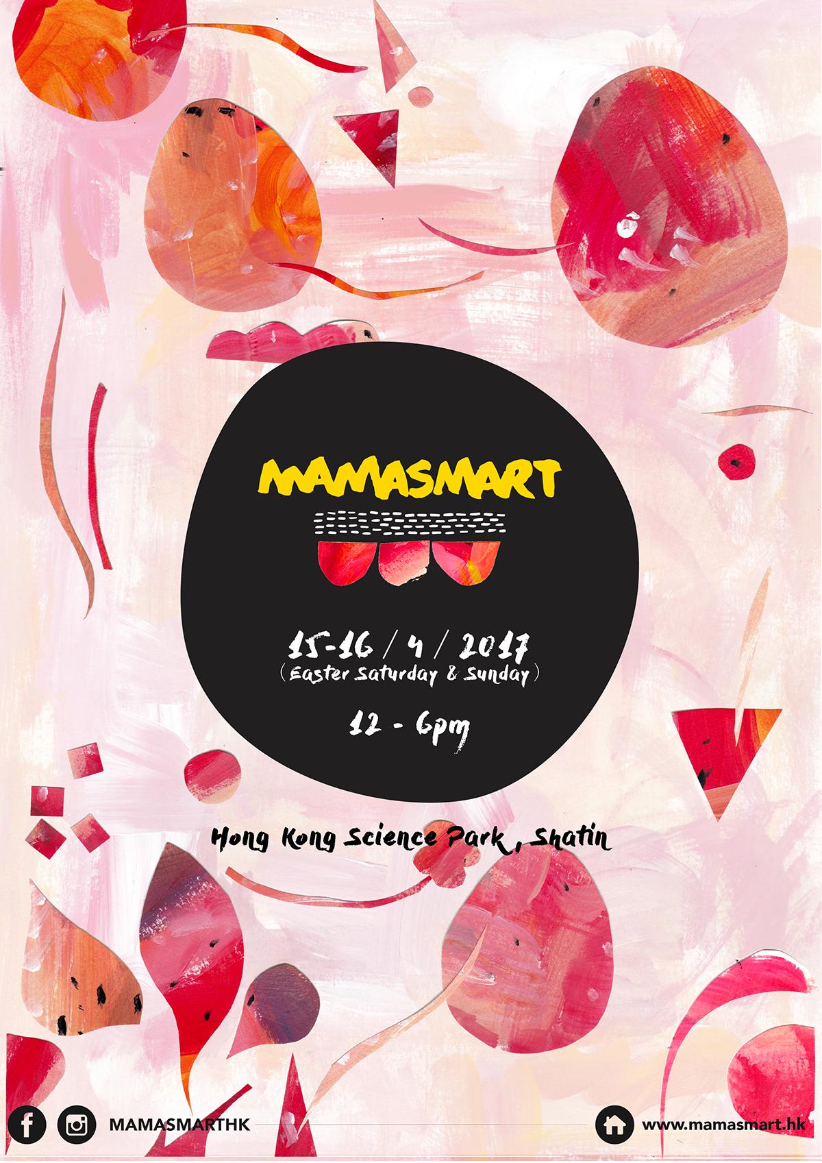 GRAPHICS DESIGN FOR MAMASMART - 2017