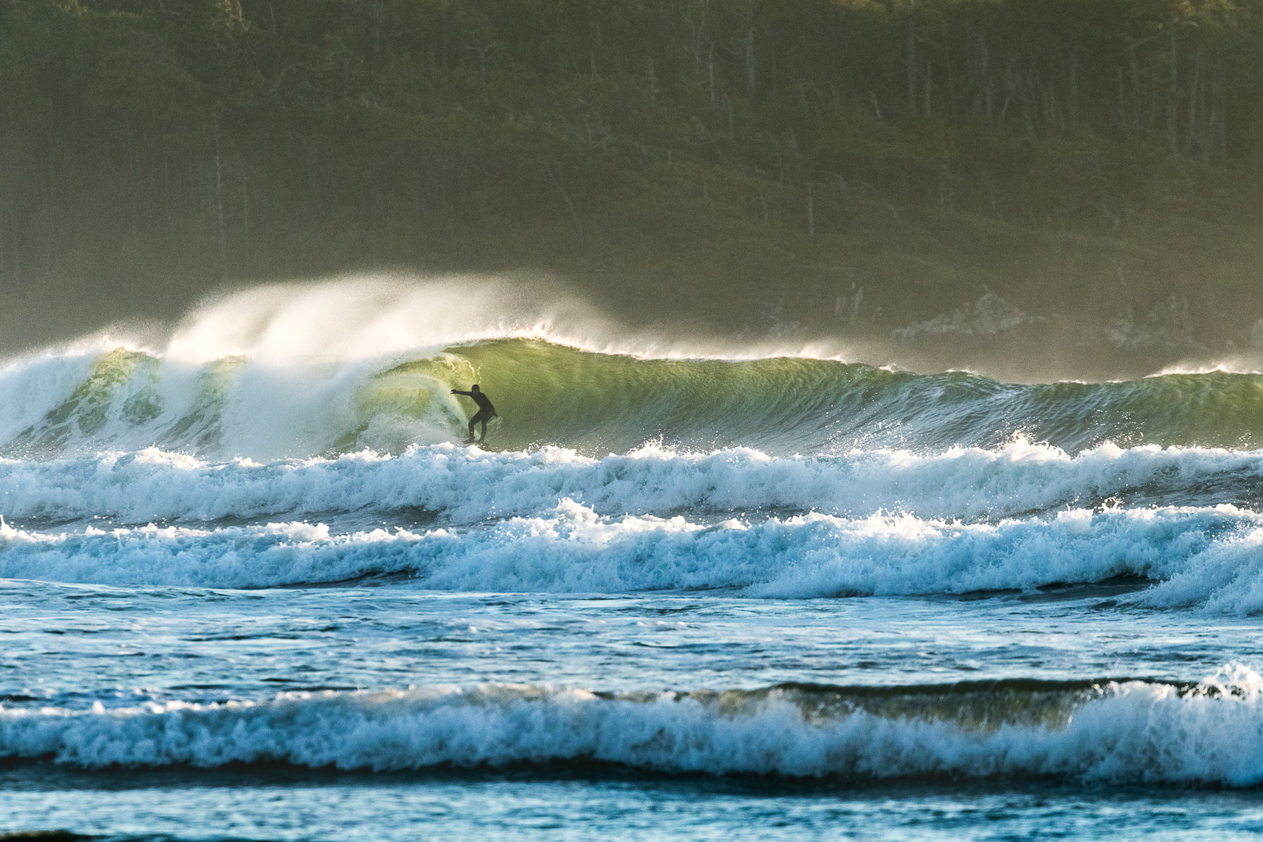Tofino Surf Photography - Unexpected Size