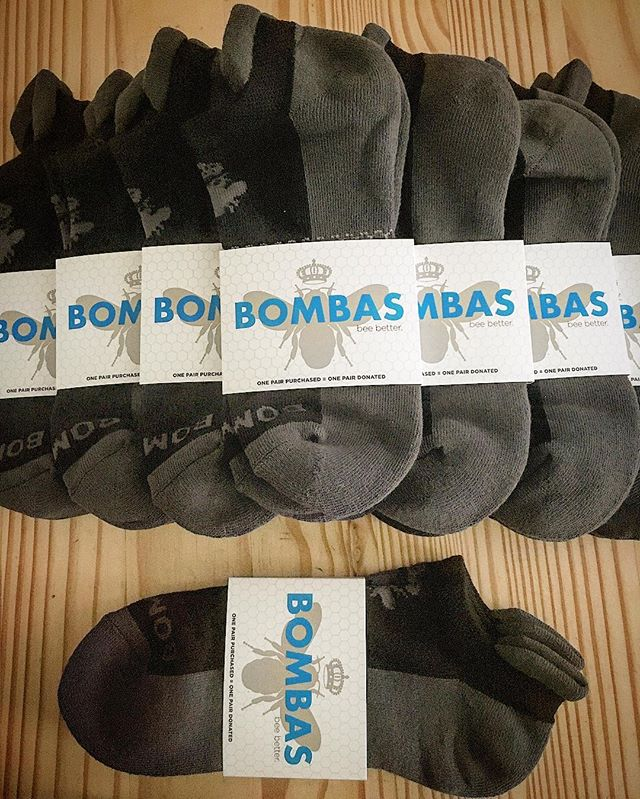 We have received a wonderful donation from @bombas- 1000 pairs of socks for our backpacks! Bombas donates one pair of socks for every pair purchased. Another example of a  great company making a difference in this world! Thanks again!