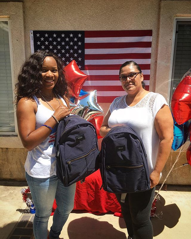 Gbpla wishes everyone a very happy 4th of July! We were so happy to be able to provide @heritagegrouphomes with backpacks for their residents this morning! Great work guys!