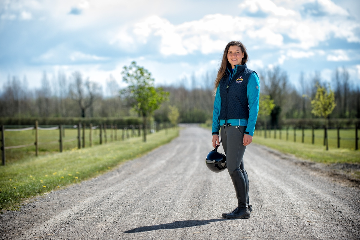Rhianydd who lives in the Vale of Glamorgan, impressed the panel of judges from the outset with her outgoing personality, her equestrian knowledge and her riding skills.