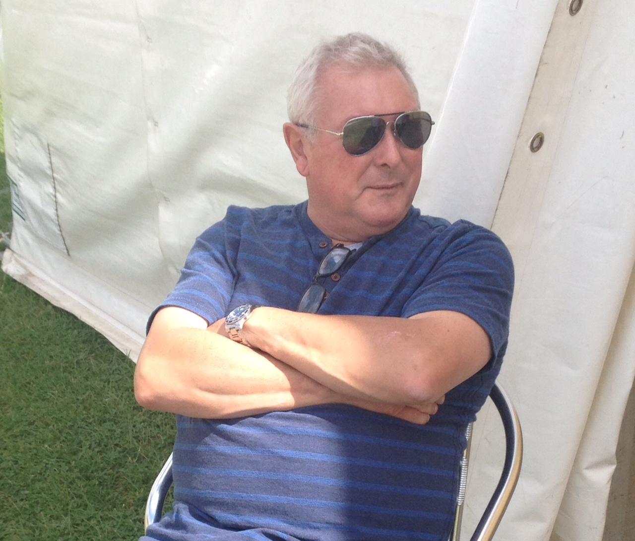 Geoff Billington attends ESUK 2016