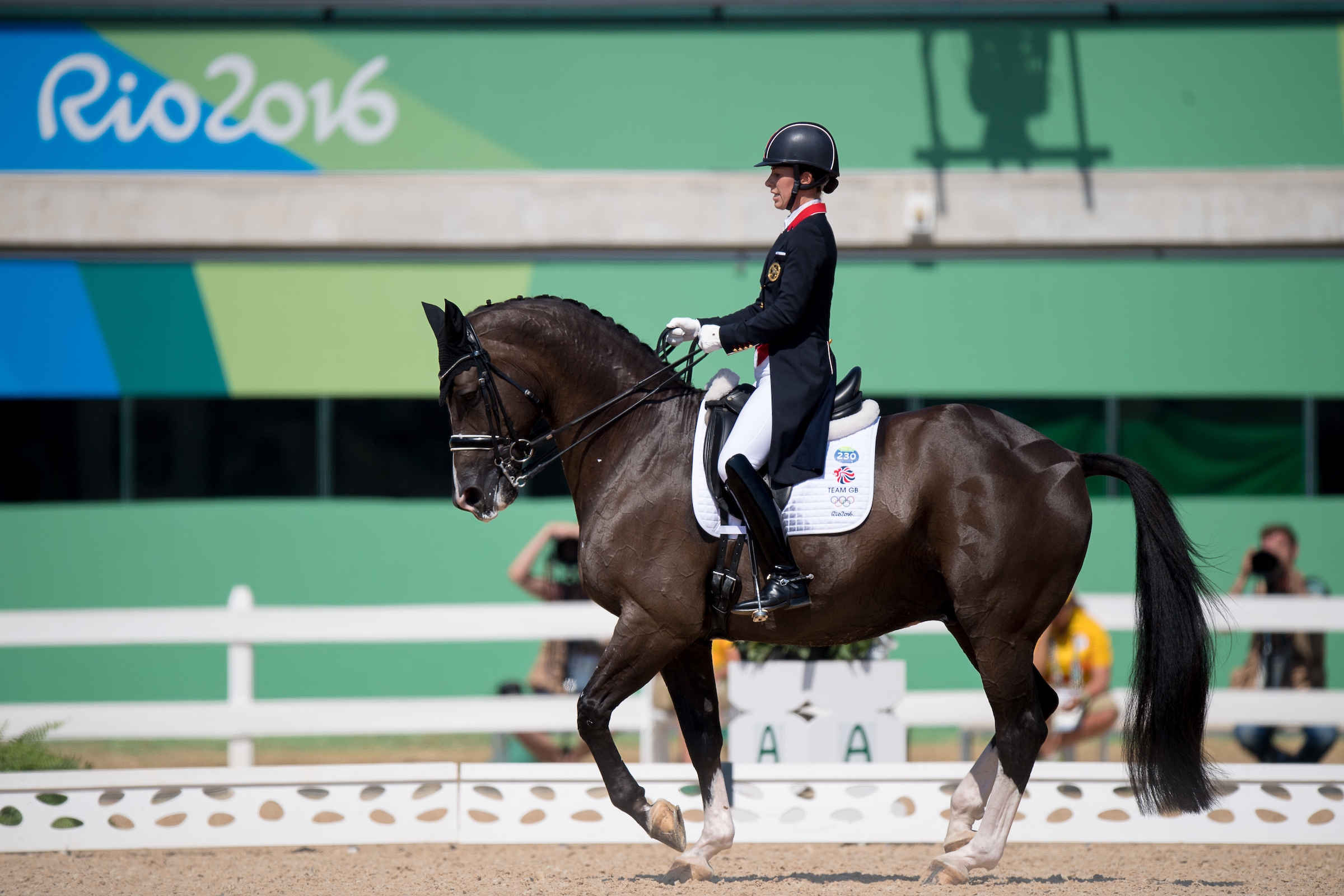 Charlotte Dujardin and Valegro take gold for their stunning performance (BEF/Jon Stroud Media)