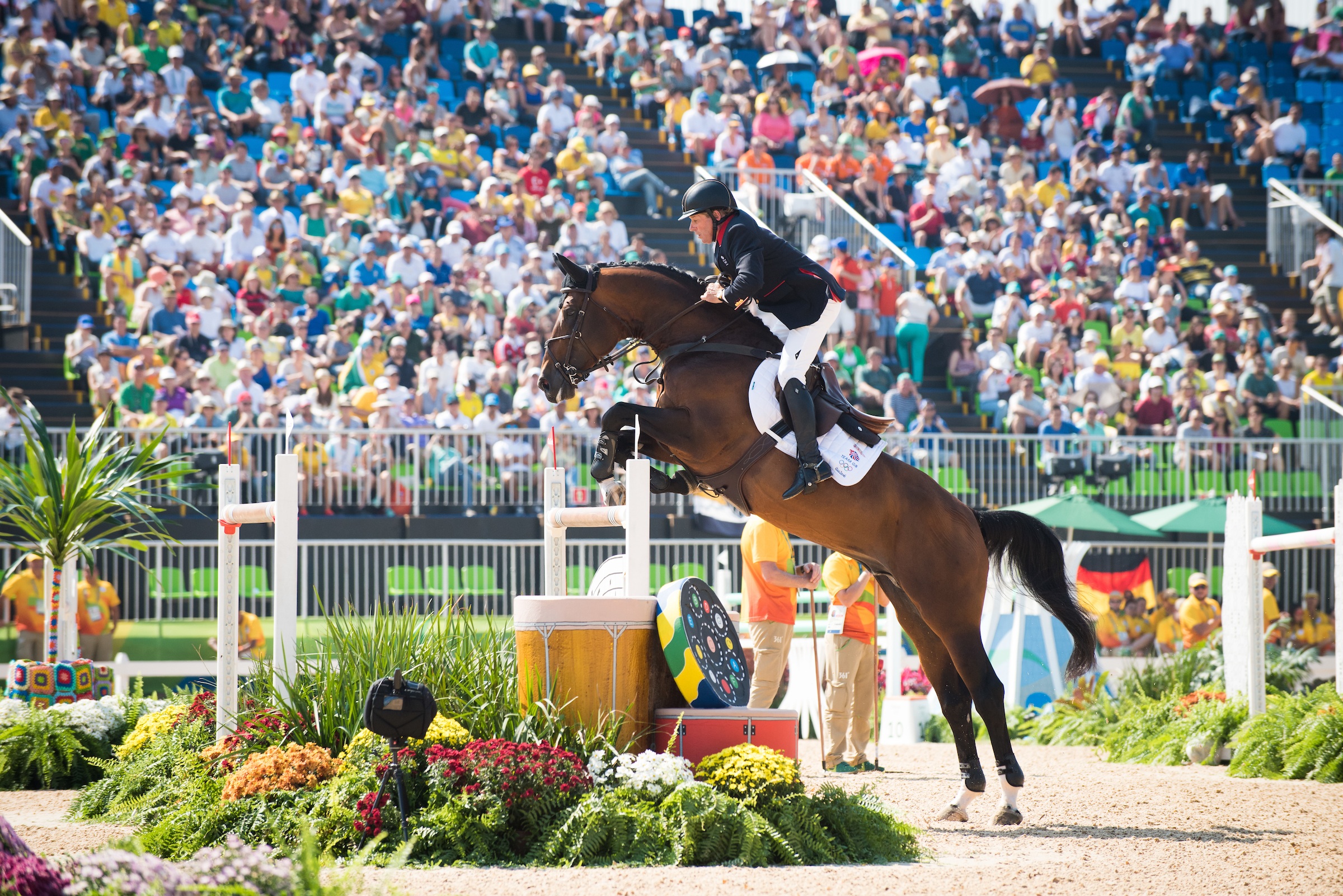 Nick Skelton will ride in tomorrows Individual Finals with Big Star (BEF/Jon Stroud Media)