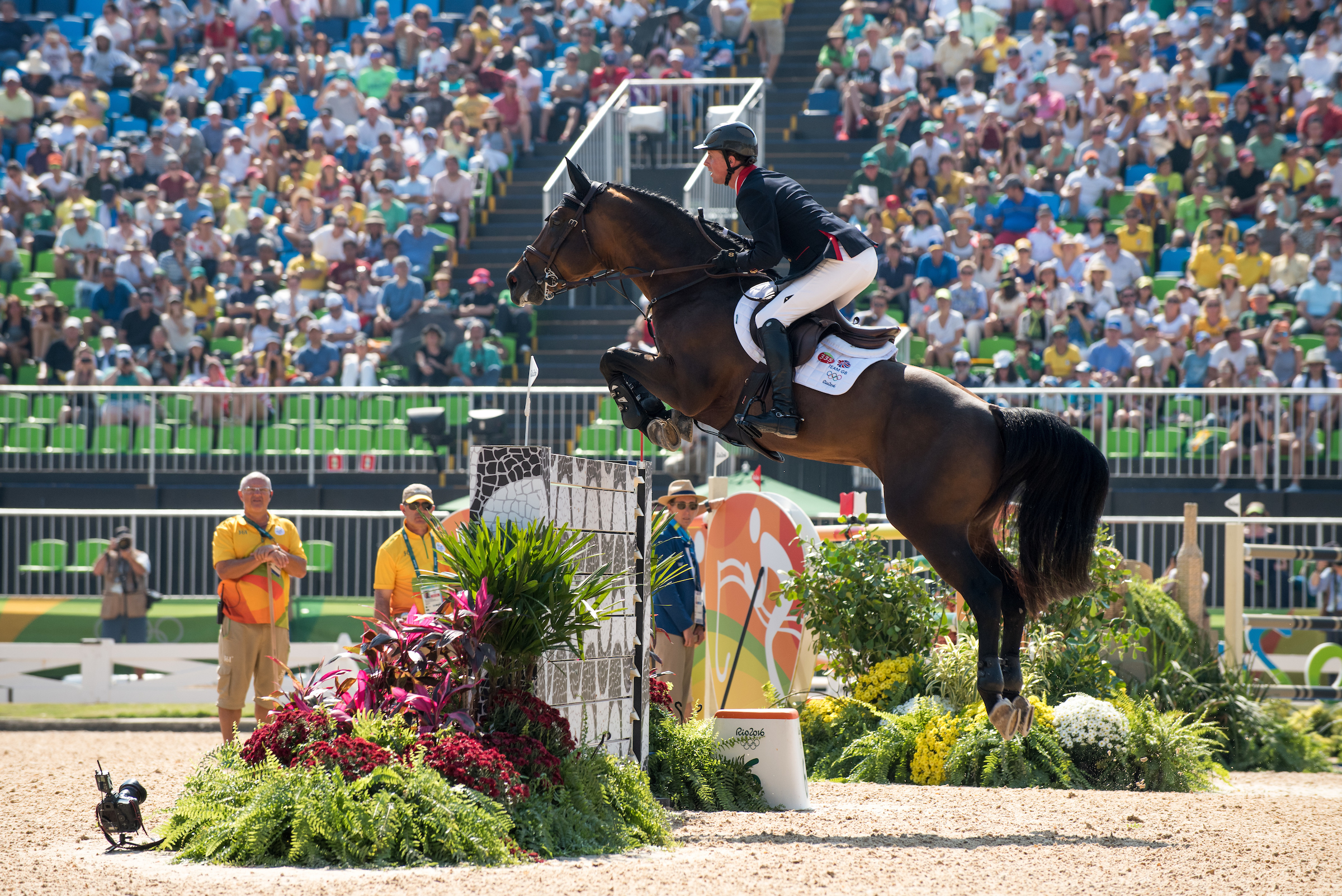 Ben Maher and Tic Tac produced some great jumping at Deodoro (BEF/Jon Stroud Media)