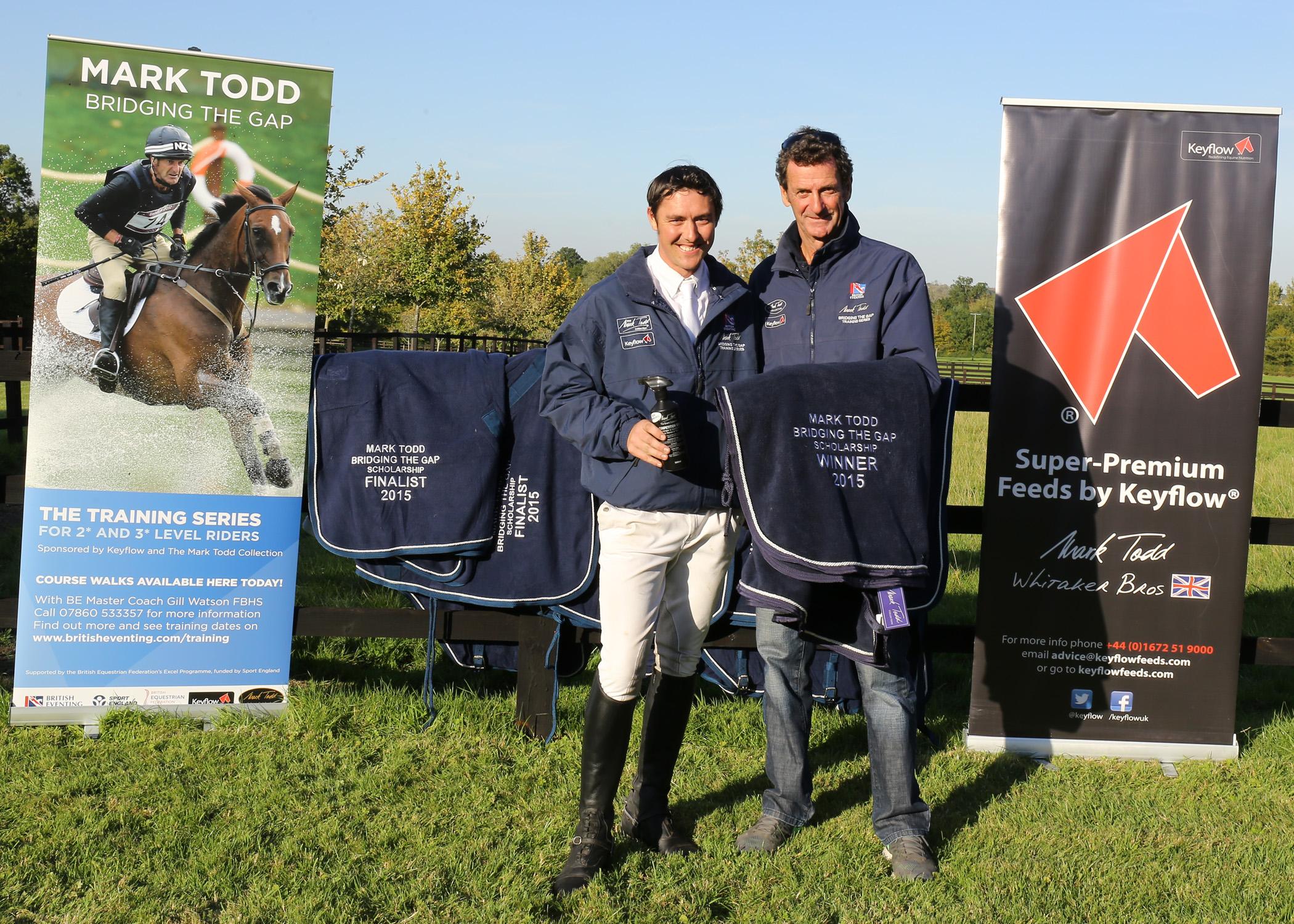 Last years winner Tim Cheffings (Credit: Fiona Scott-Maxwell)