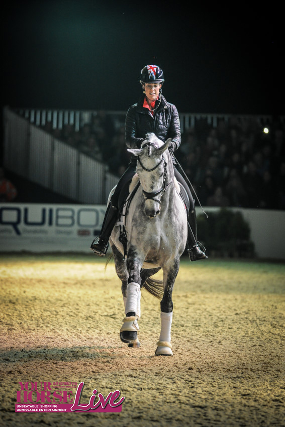 The audience enjoyed seeing Charlotte and Florentina in action in the BETA Arena