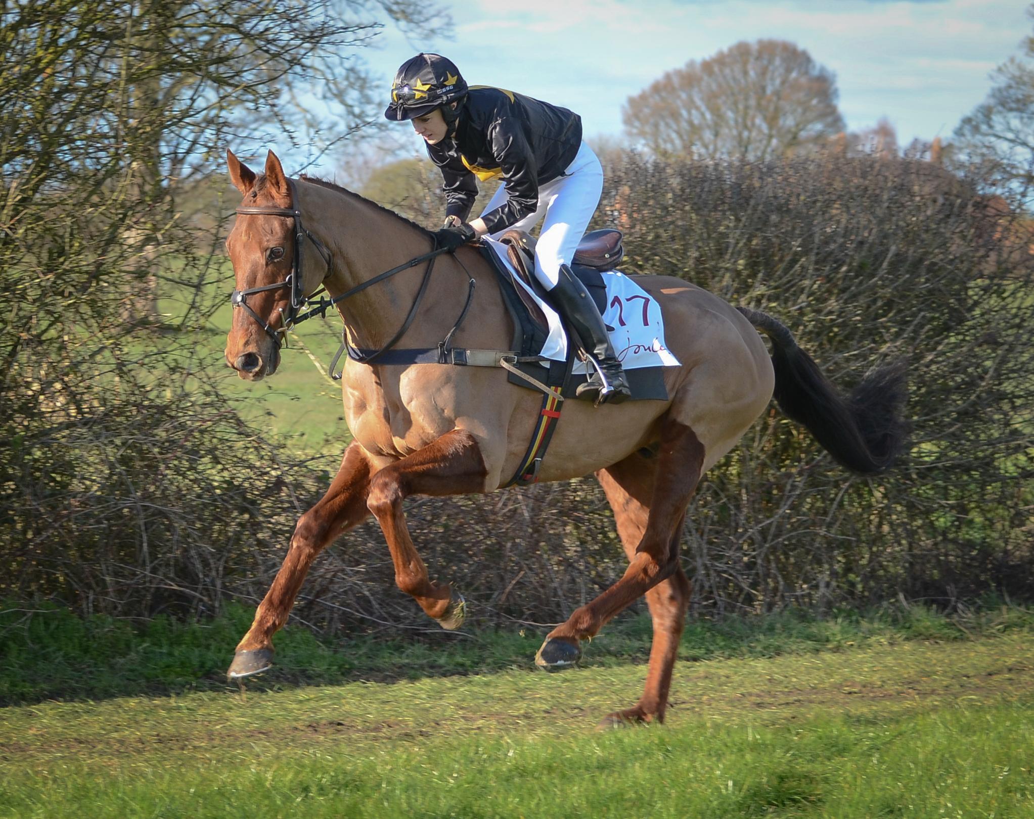Lucinda with West Cork Flash