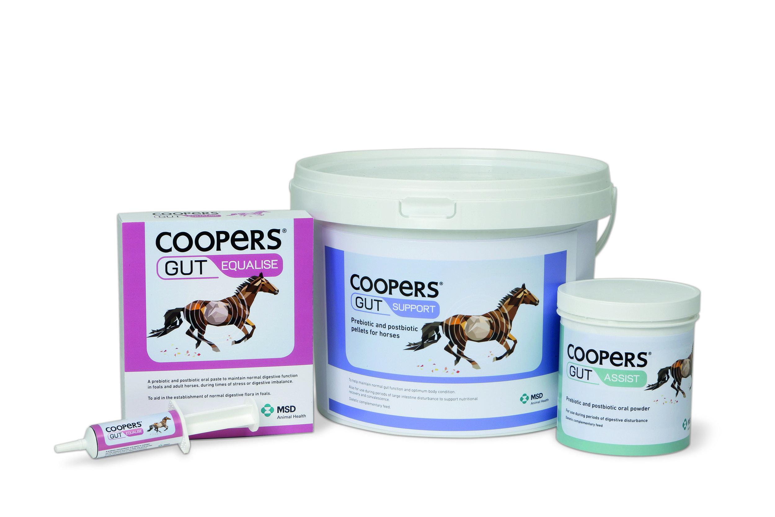 The Coopers Gut range
