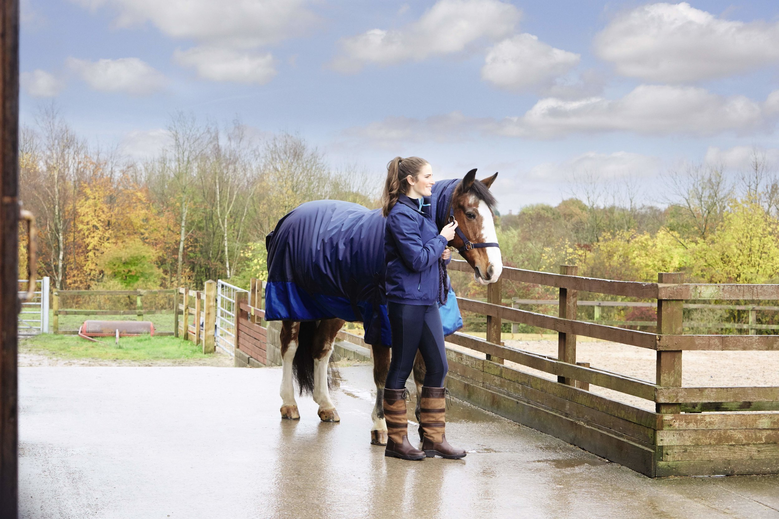 Aldi's new Country Living range has a great selection of horsey clothing