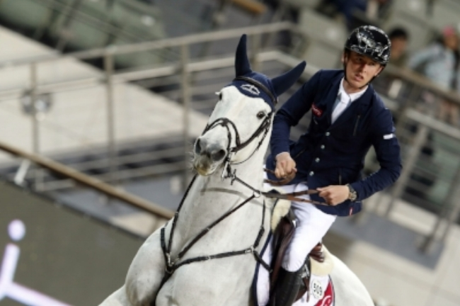 Leading show jumper Scott Brash will be competing in Doha