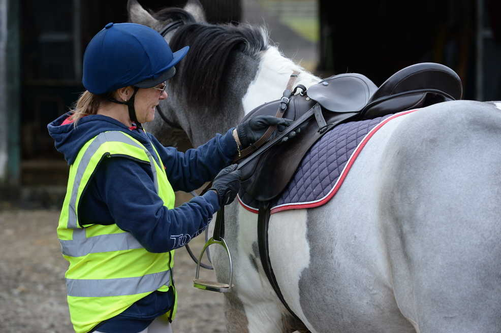 Make sure your tack is in good condition and fits your horse well before you leave
