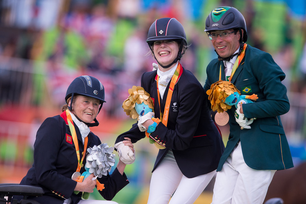 The British team had amazing success at the Rio Paralympics last summer (Pic:BEF/Jon Stroud Media)