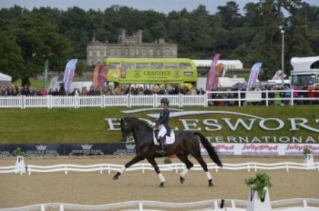 Charlotte Dujardin at Bolesworth International Horse Show