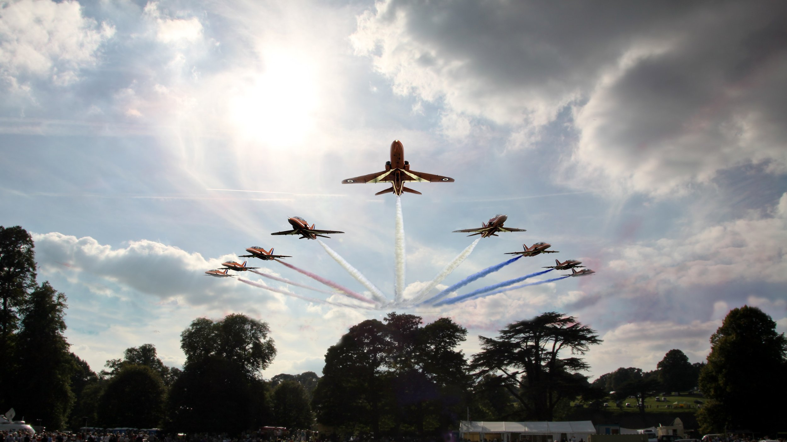See The Red Arrows in action