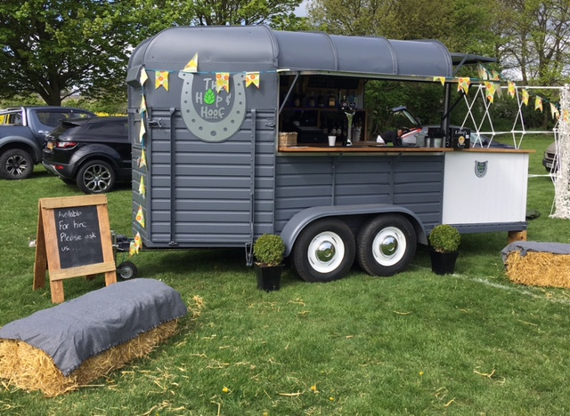 The new bar is now ready for weddings and events up and down the country
