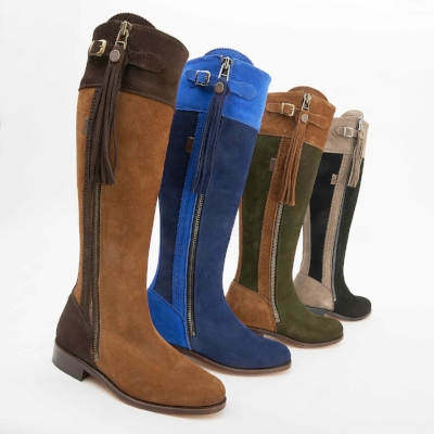 Spanish Boot Company two tone boots