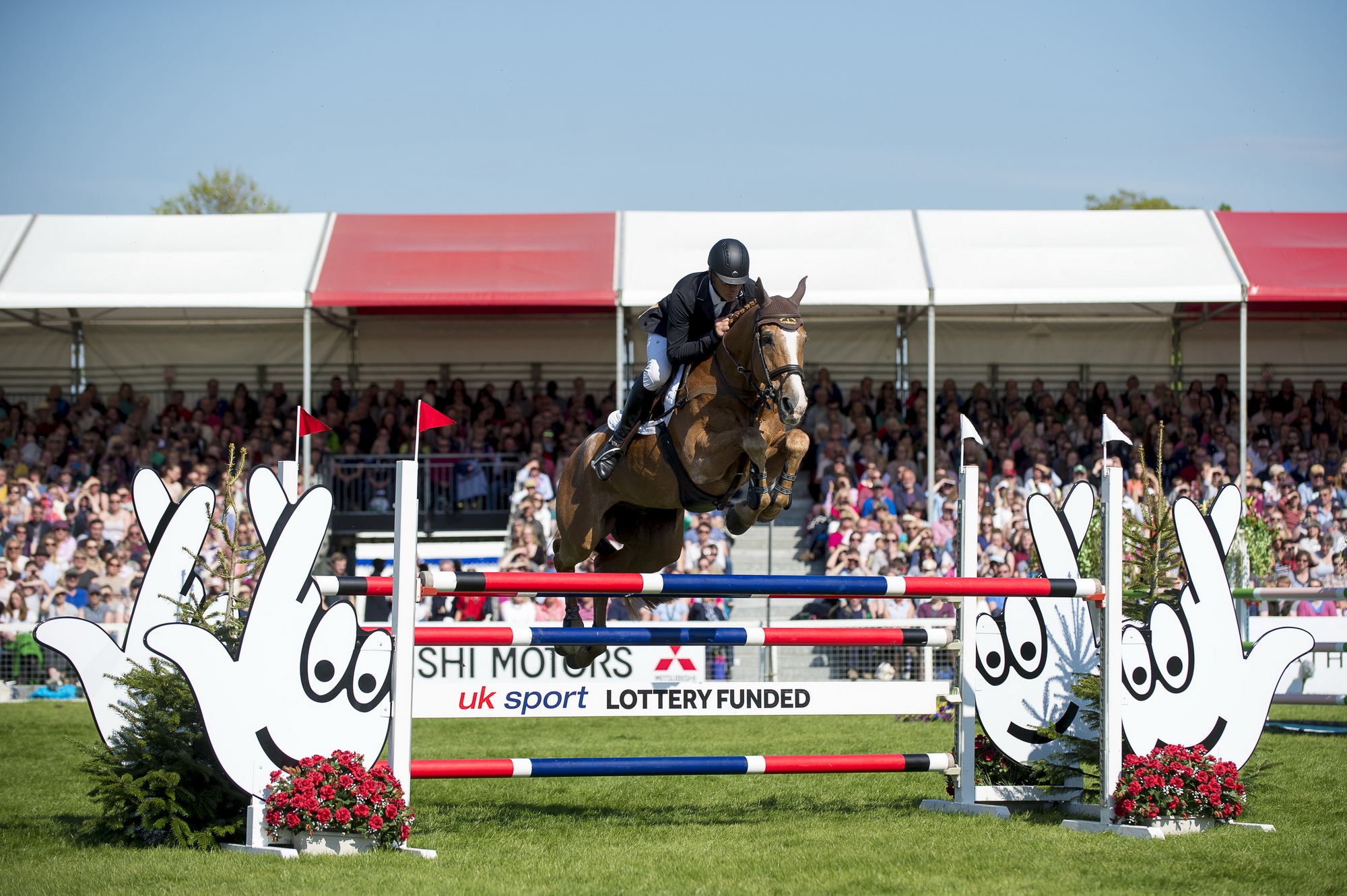 Nicholson went clear in the show jumping phase to take the title (Pic: FEI/ Jon Stroud)