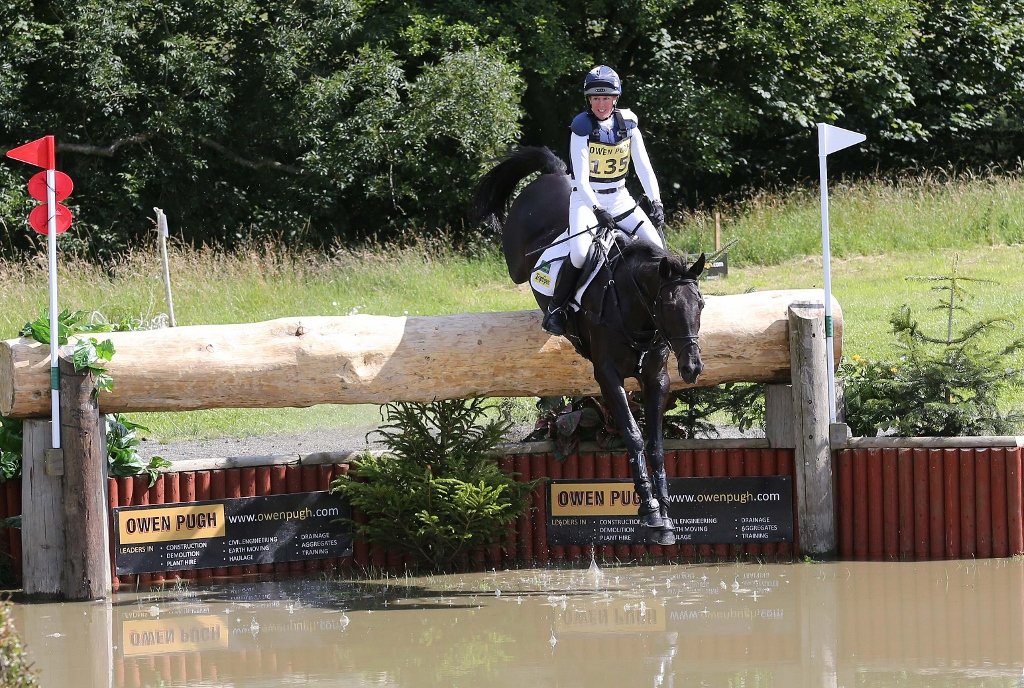 Nicola Wilson came second at the CIC*** event last year (Pic:Action Replay Photography)