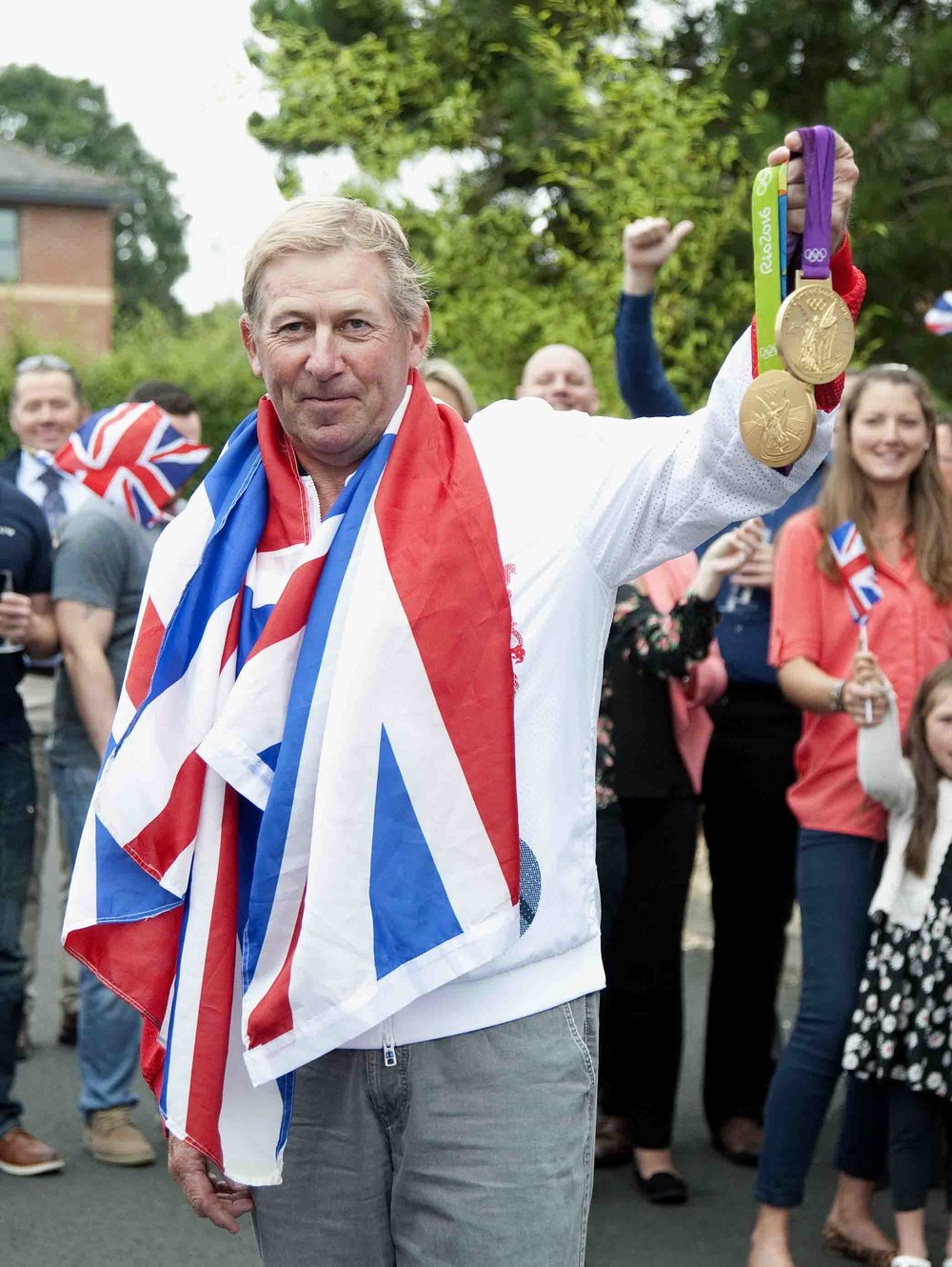 Nick Skelton will try his hand at polo Pic:Paul Harding @lewishardingimages.com