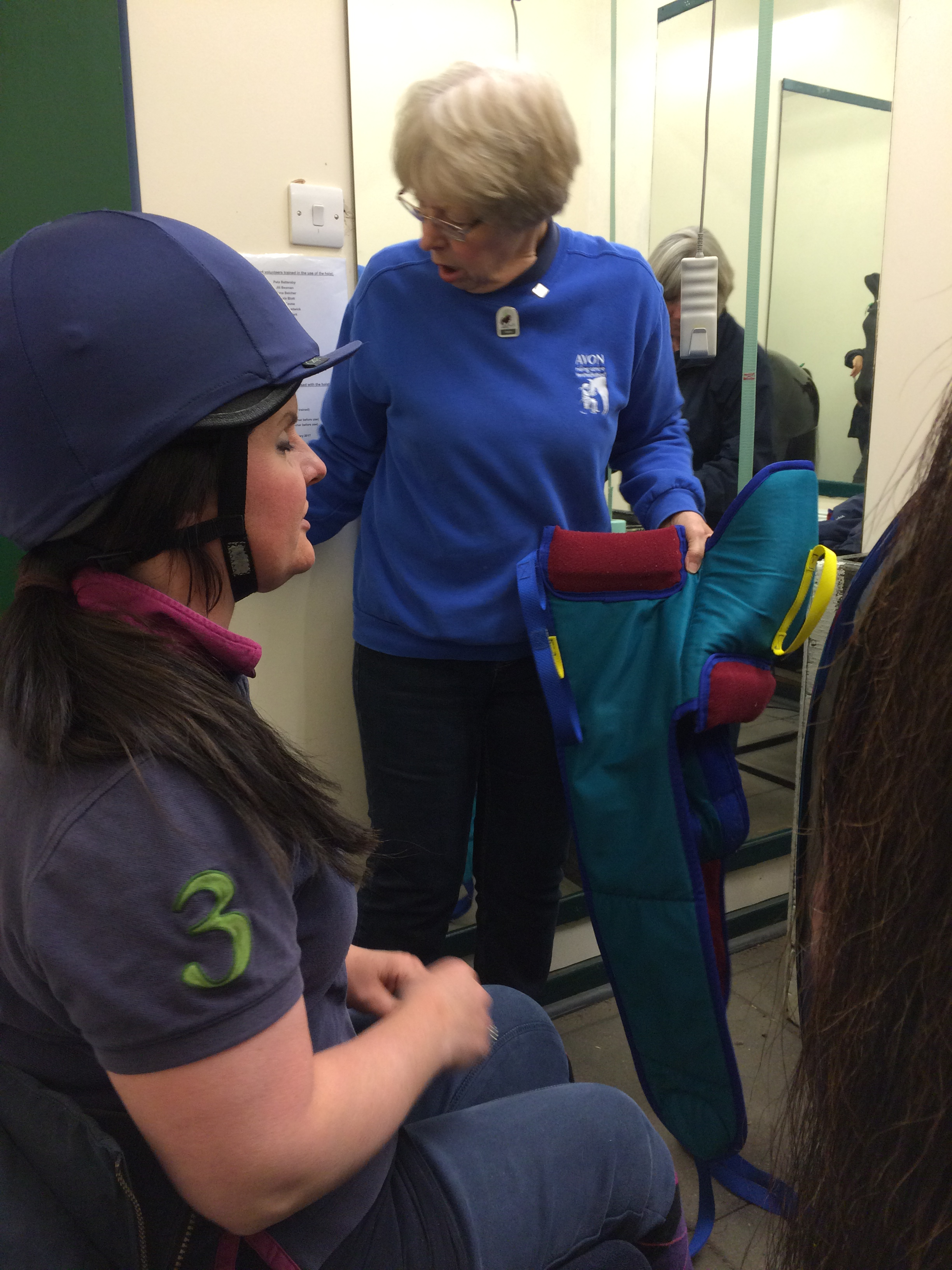 First simulator lesson at the RDA