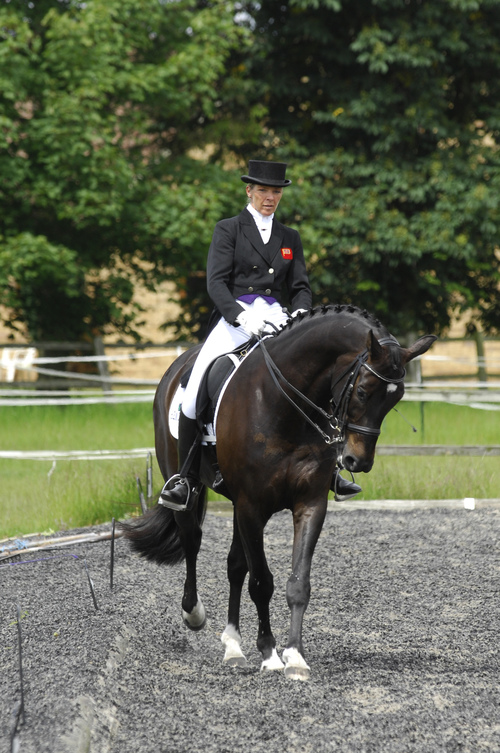 Shoulder-in is a useful lateral movement that's easy to master - here dressage pro Beverley Brightman shows you how it's done