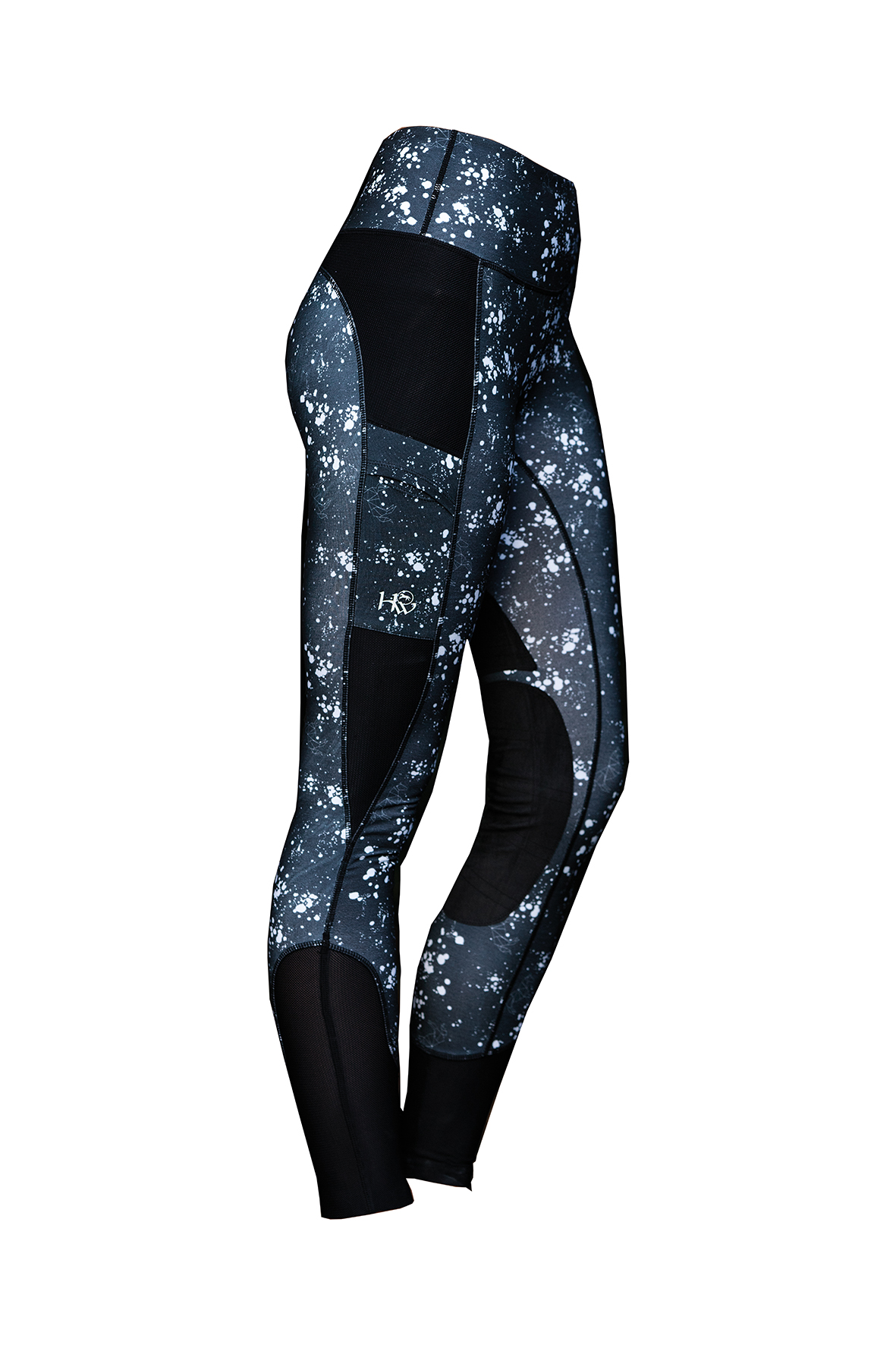 The Horseware Riding Tights in Galaxy Print