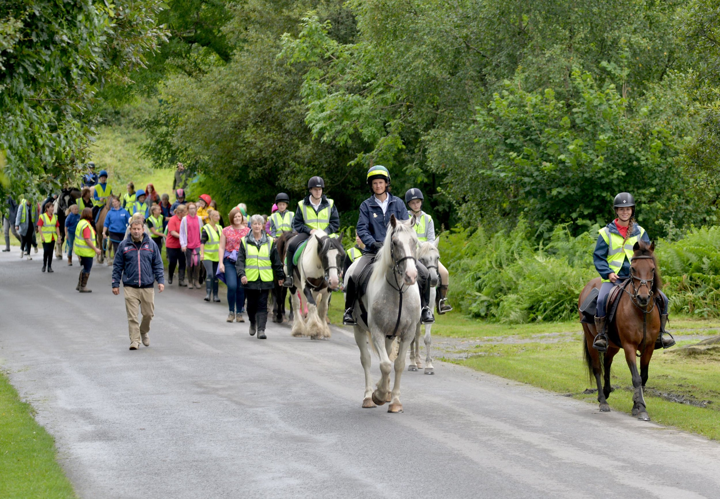 Sam Orde has undertaken a series of distance horse rides and carriage drives around the UK,