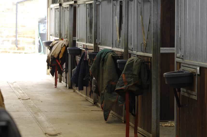Mark rugs with your horse's freezemark or your postcode