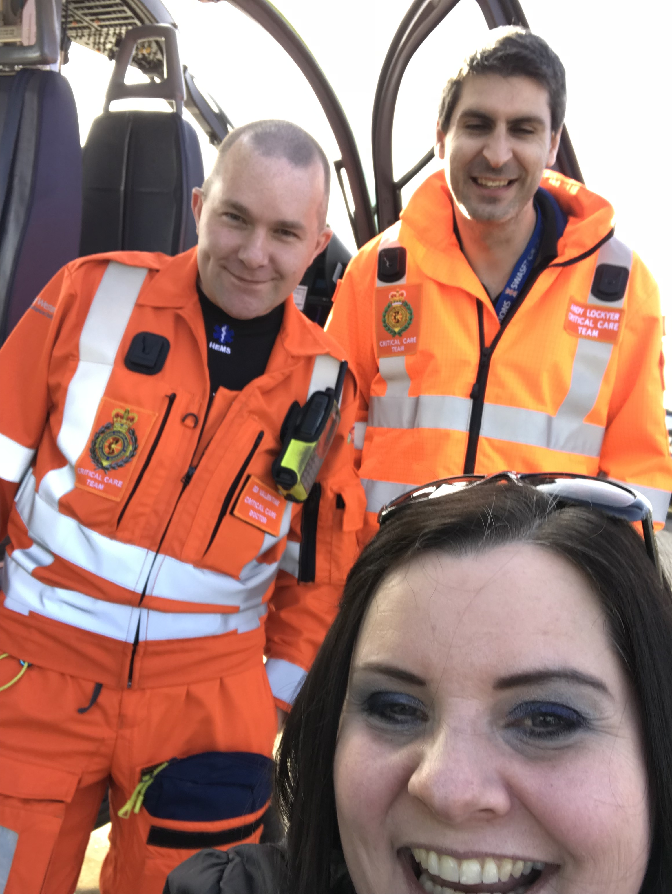 Meeting the critical care team