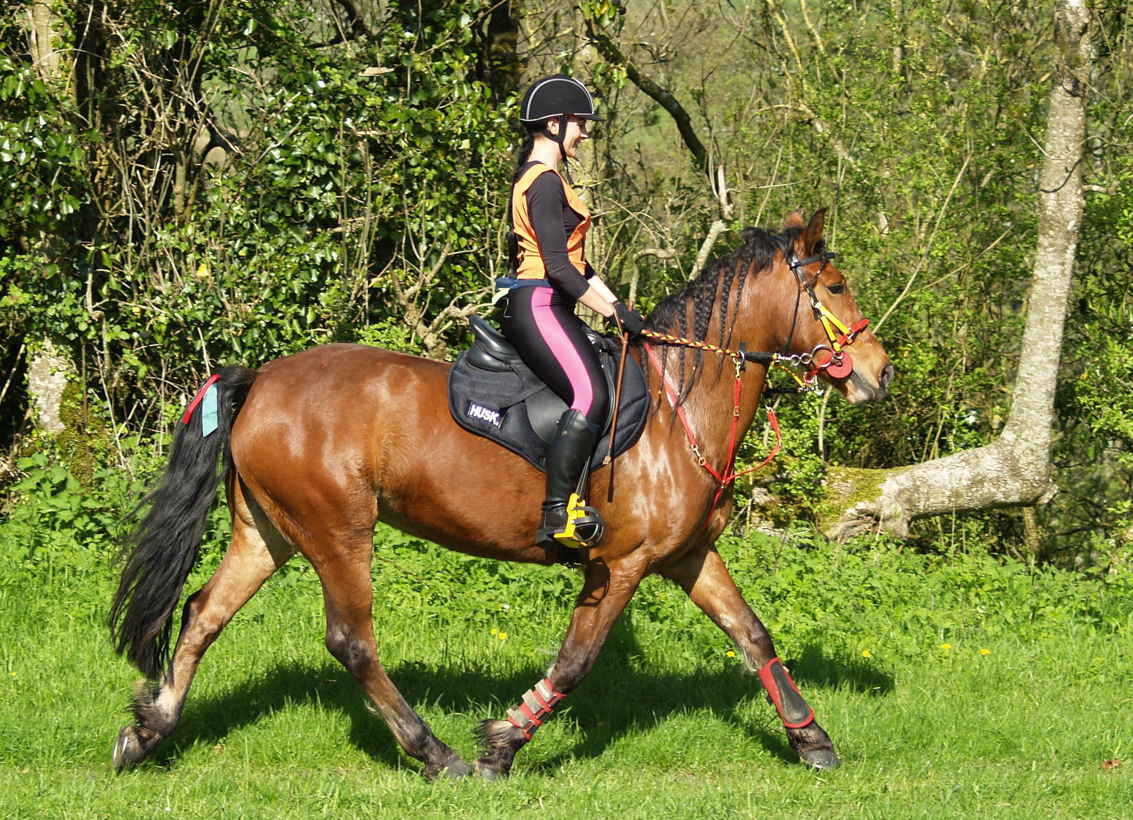 Joanna and Summer take on their first Endurance GB ride