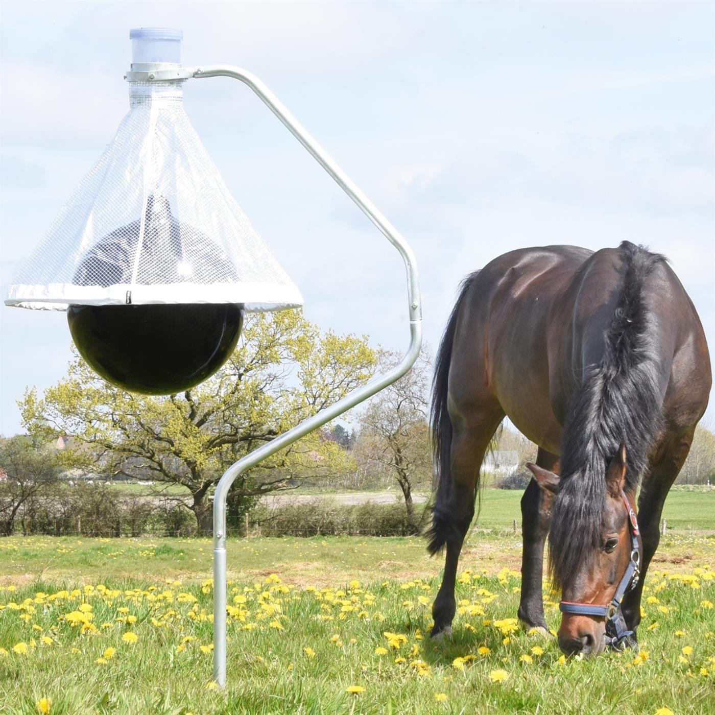 The Tabanus Trap can be put in your horse's field to keep horseflies away