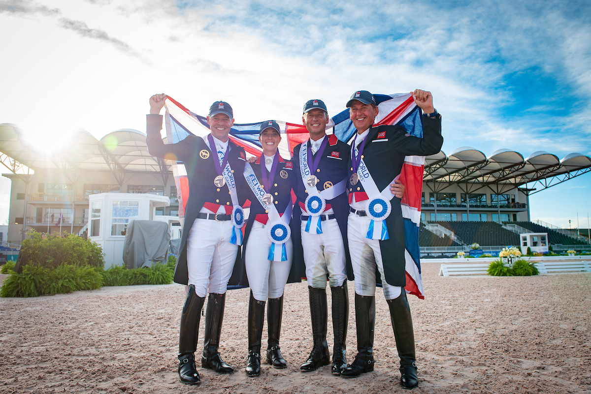 Team GB win Bronze