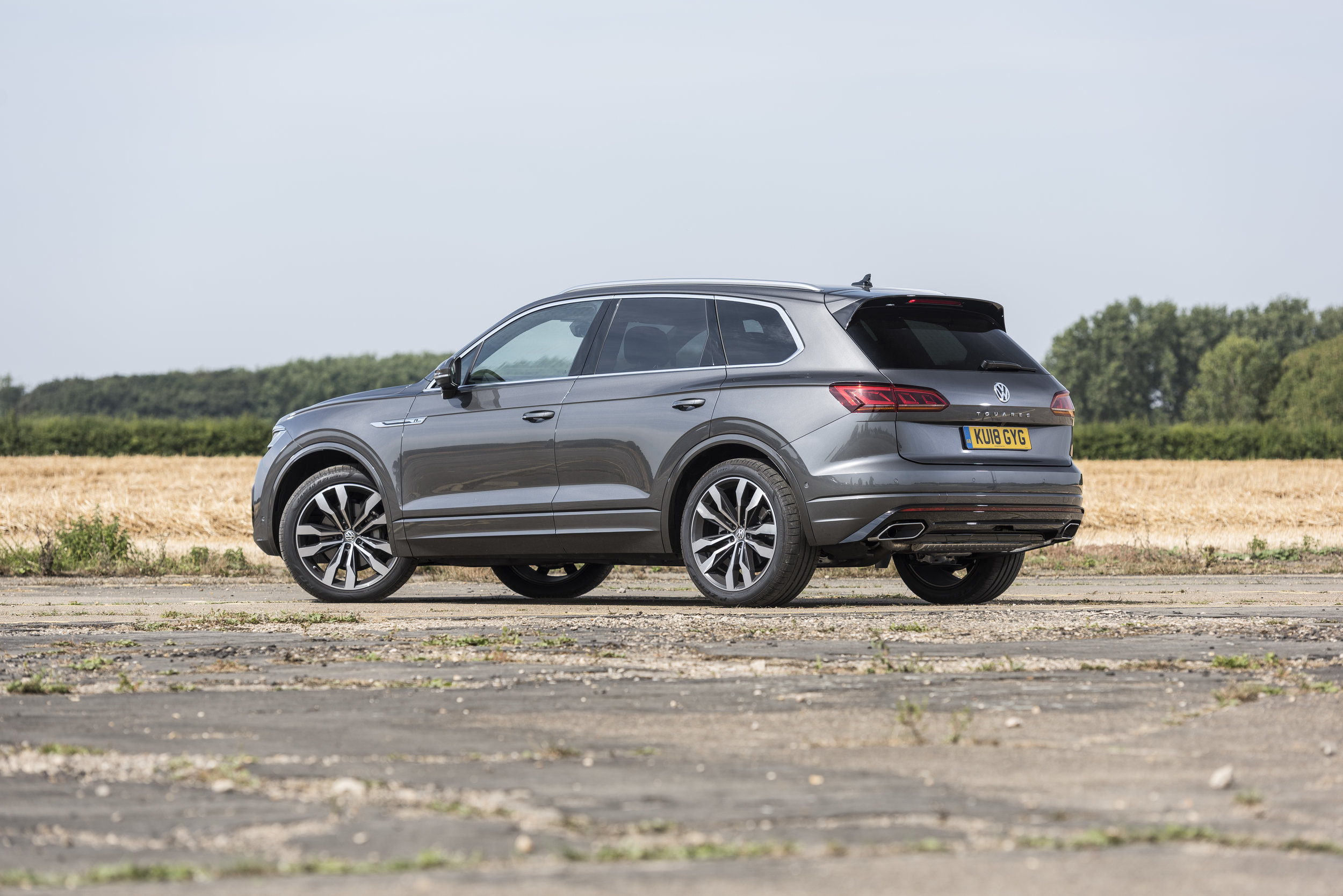 A great all-rounder, the Touareg is equally at home on the school run, or towing a trailer