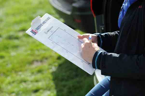 Some riders learn their dressage test by drawing it