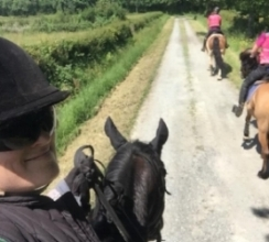 Exploring France on horseback