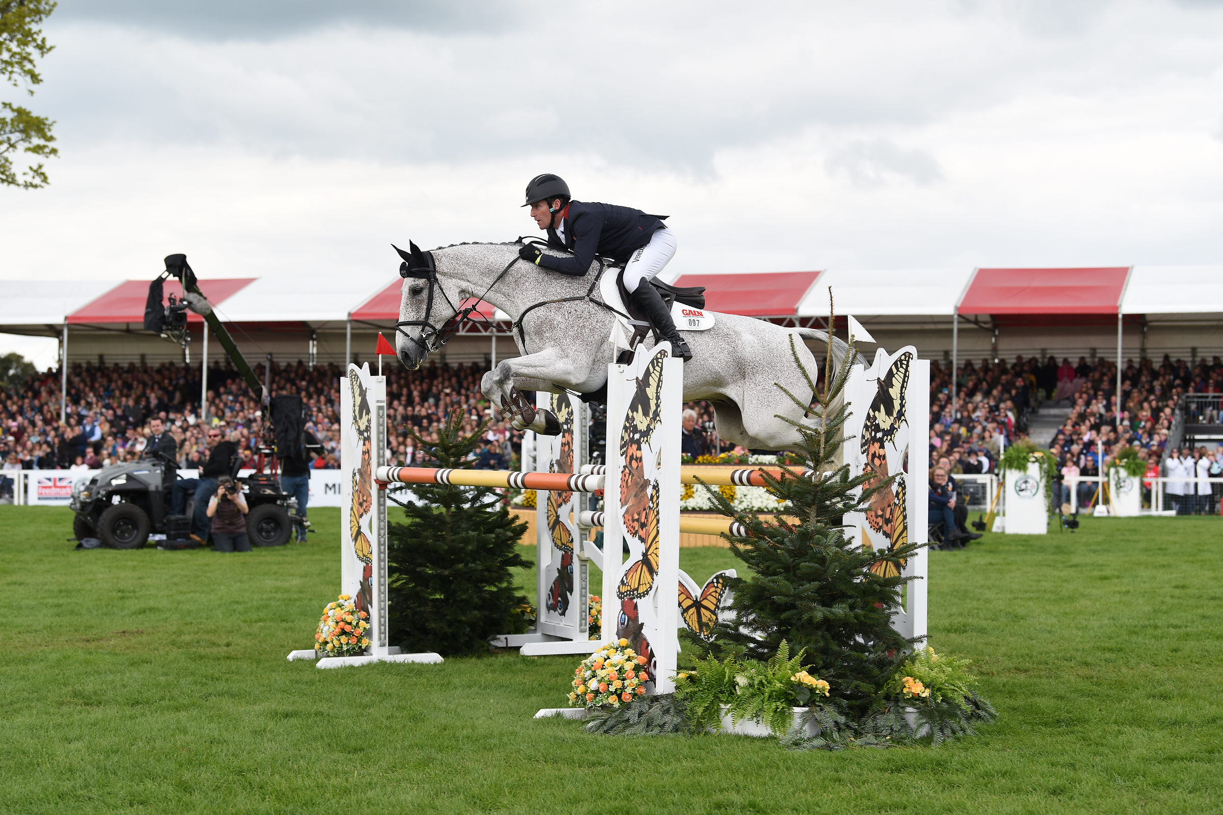 2, Ballaghmor Class - Oliver Townend GBR (27.1pens)