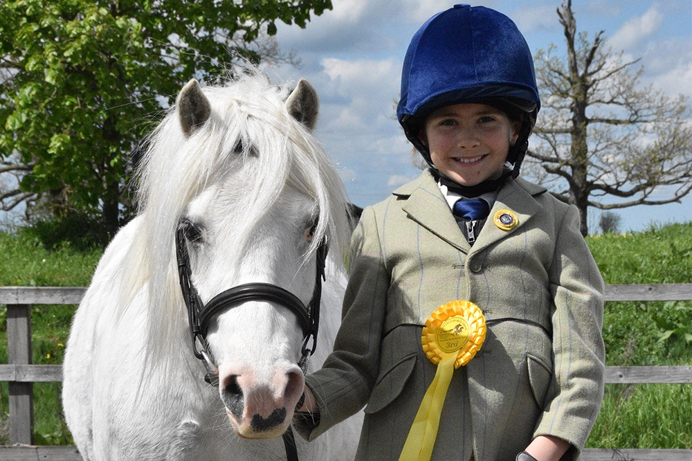 Redwings Quince was also crowned the victor in the Utility Pony class, while Redwings Teddy came second in Best Turned Out, and Redwings Lady Fern took second place in Prettiest Mare and third in Lead Rein Pony.