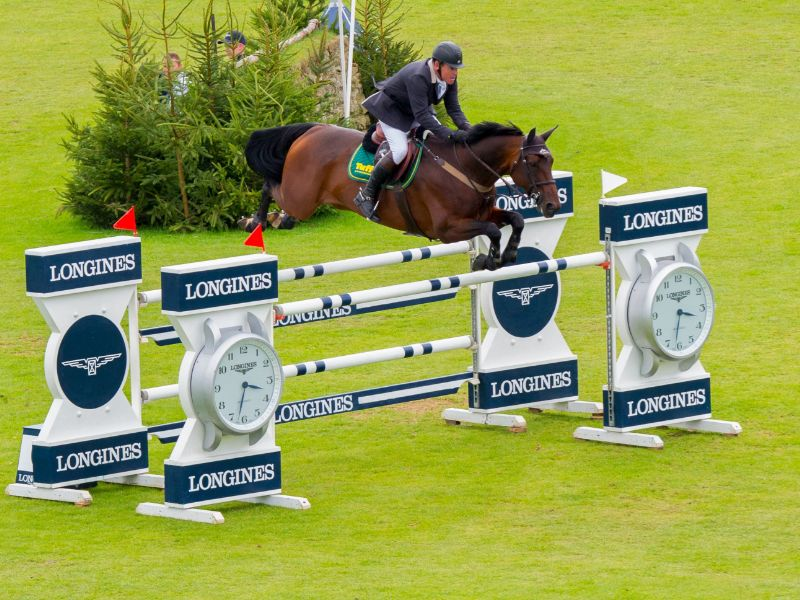 Tim Stockdale competing at Hickstead in 2016 (c) Craig Payne
