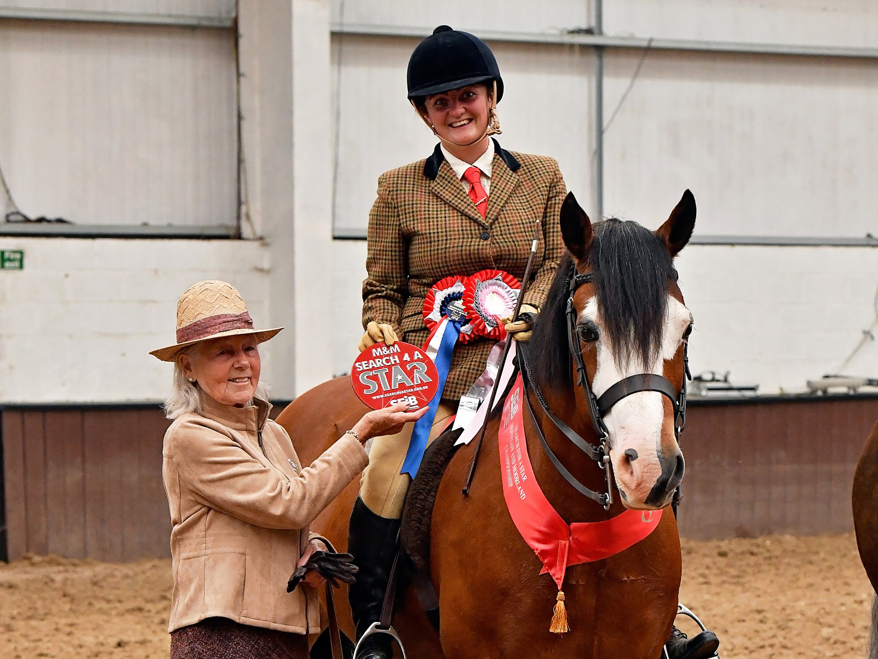 Danielle Remblance and her Welsh section D, Davada Billy the Kid