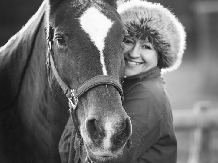 Owning a horse was on my before 40 bucket list. I've had Molly for three and a half years now and consider myself very lucky every day to have her in my life.  Amy Walden