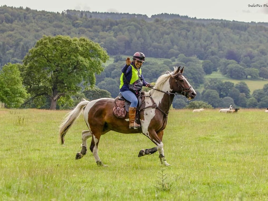 Fun and social rides are our favourite thing to do. My favourite thing about him is his independence, the fact I can take him anywhere on his own and and he just gets on with it.  Gemma Allen