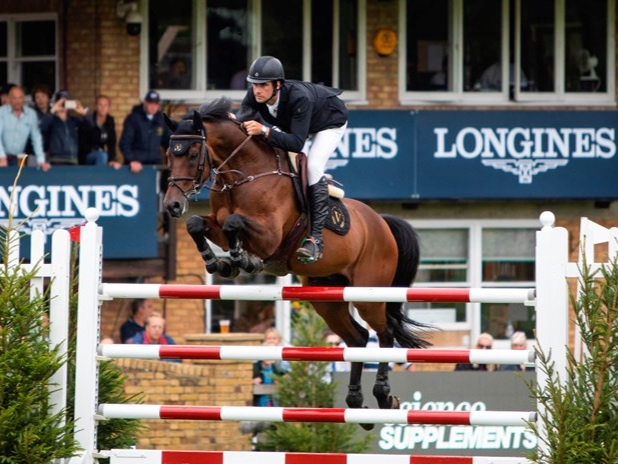 """Ireland's David Simpson reclaimed the Science Supplements BHS Queen Elizabeth II Cup.   He has only been riding Gentleman VH Veldof for a few weeks. """"He landed on the Monday before the Al Shira'aa Derby show in June, so that was our first show with him,"""" said David. """"I really, really like him. For such a short period together, we seem to have clicked quite well.  """"Michael Whitaker rode him before me, so I went back and watched a couple of videos of him riding him. Obviously I can't copy him, but it gave me some ideas!"""""""