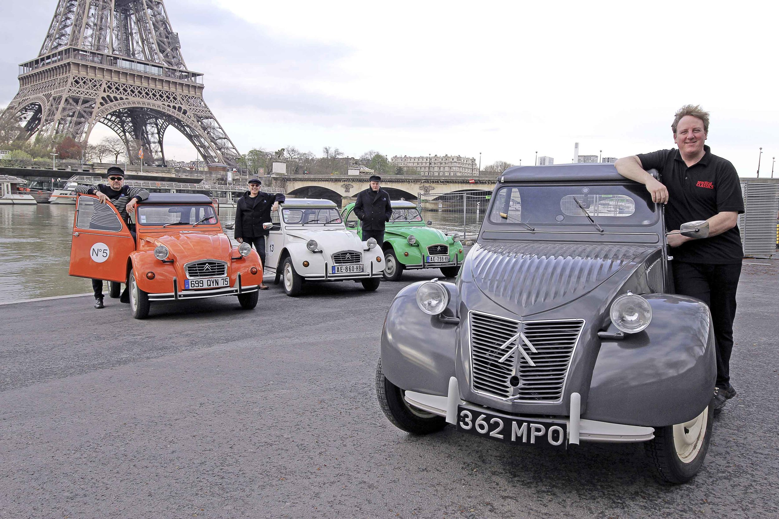 After a long and intense restoration - and an even longer road trip to Paris a few months ago - find out what happened when our James said farewell to his 2CV...
