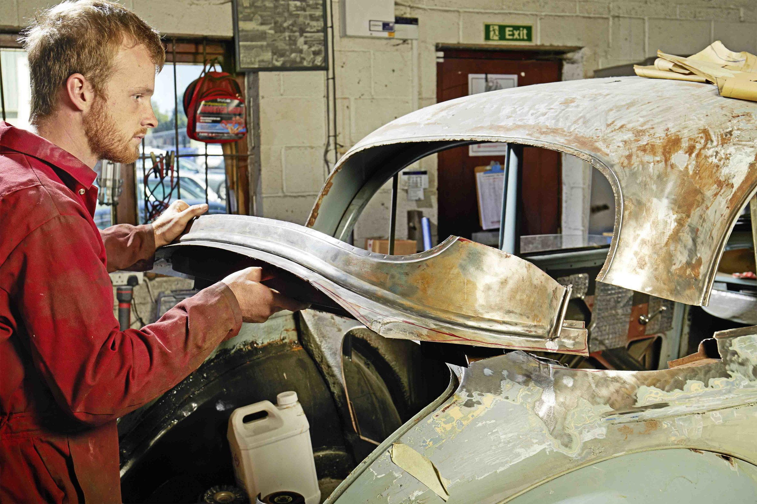 We've got so much tech advice this month! Anything from brake hose tips to metal shaping, plus news of our own restorations, from our Riley NEC show car – which will be rebuilt on stage at the Classic Motor Show this year – to team projects including a Triumph TR6, Saab 96 V4, Morris Minor and many more!