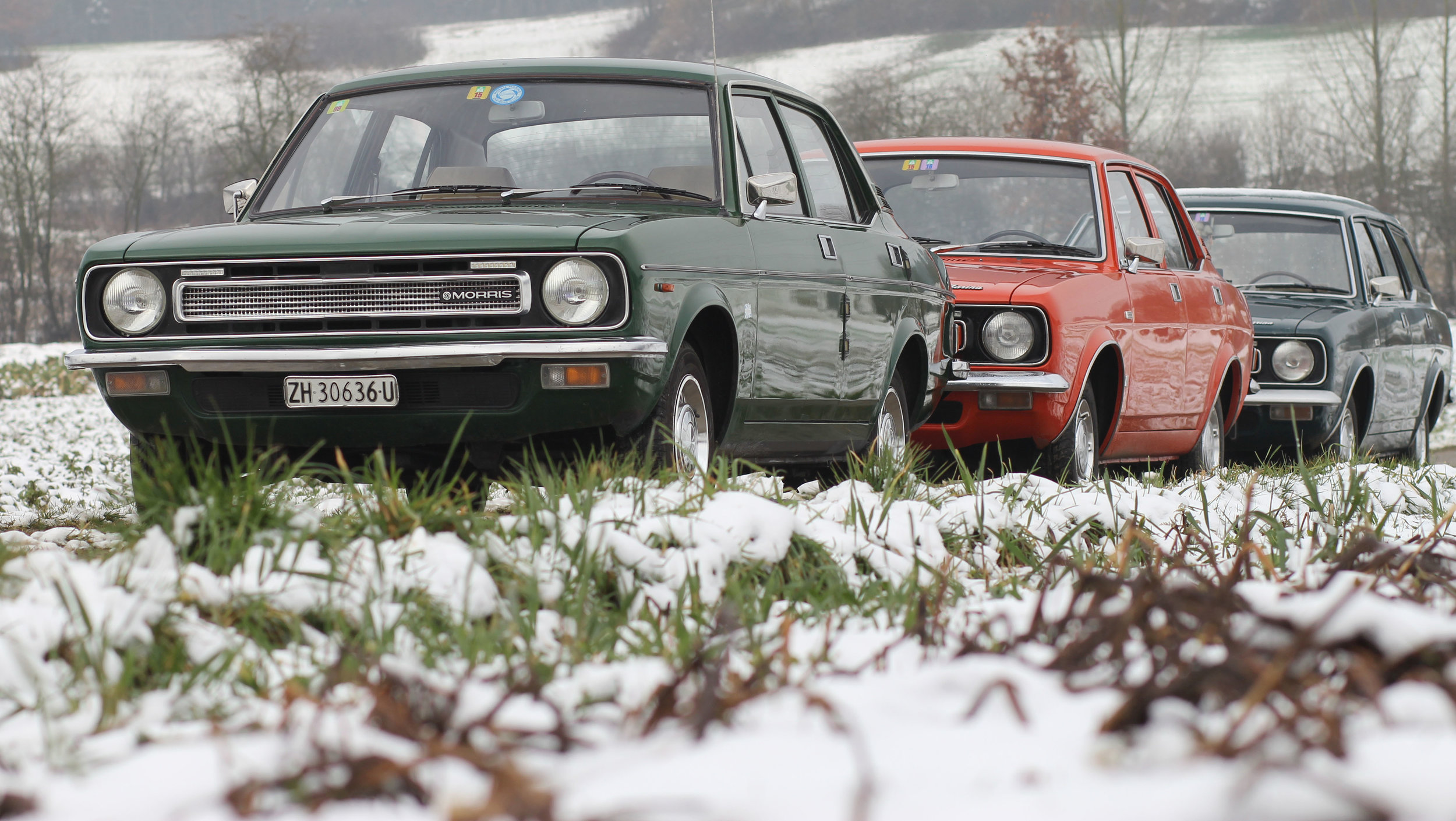 We had assumed Swiss engineer and BL enthusiast Peter Haas would use a modern vehicle for his daily duties but, as it turns out, the 'company workhorse' is a Morris Marina. His role involves driving vast distances across the Alps in order to inspect his country's power plants – typically 200-600km a day - and for this, he uses a MkI Estate, which he bought in 2004. 'It has 325,000km on the clock and it is still on its original engine. All I have done is give it two head gaskets and a lead-free conversion. Why would I want a modern car? I can do all the repairs on the Marina myself and it is fine in the snow!' For the full story, check out the new issue of Practical Classics…