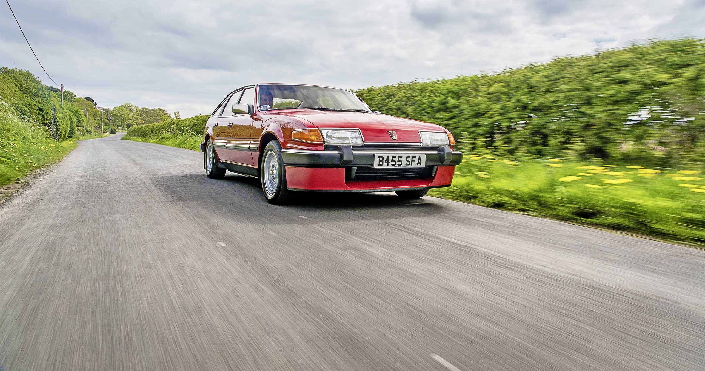 John says he can remember the first time he heard his SD1, sat on his drive with the V8 burbling away. He fell in love with it there and then. He borrowed the money and paid £1700 for the car. 'It was a runner with scabs and the odd suspension squeak,' he says. 'But had an amazing engine – £800 had been spent on brand new cylinder heads from RPI Engineering.'  He drove the car for a year before, in his own words, 'family things' got in the way; that included meeting his future wife Kathleen, establishing a career, buying a house and starting a family. During those two years the Rover was laid-up at his dad's home. And then… it was restoration time! Ready about it in the new issue of PC.